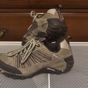 Waterproof Merrell hiking shoes US size 7.5